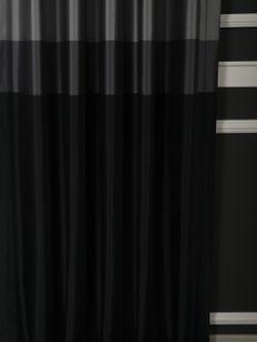 (Siyah) Pamir Blok Desen Fon Perde Siyah 9220-580 Fiyatı, Yorumları - Eniyiperde.com - 2