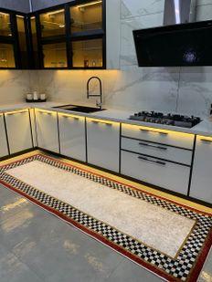 (Çok Renkli) Brillant Rosen Model Kaymaz Taban Leke Tutmaz Mutfak Halısı Fiyatı, Yorumları - Eniyiperde.com - 1