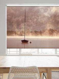 Dijital baskılı resimli stor perde modelleri