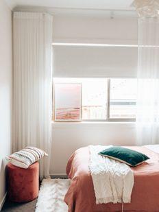 Yatak odası stor perdesi
