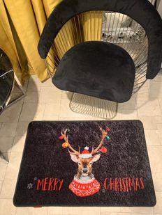 (Çok Renkli) Christmas Yılbaşı Temalı Lateks Kaymaz Taban Kapı Önü Paspası (Ebat 60x90) Fiyatı, Yorumları - shop.brillant.com - 2