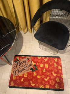 (Çok Renkli) Pattern Yılbaşı Temalı Lateks Kaymaz Taban Kapı Önü Paspası (Ebat 60x90) Fiyatı, Yorumları - shop.brillant.com - 3
